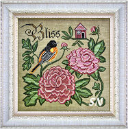 Songbird's Garden #6 Summer Bliss from Cottage Garden Samplings - click to see more