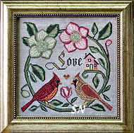Songbird's Garden #1 Forever and Ever from Cottage Garden Samplings - click to see more