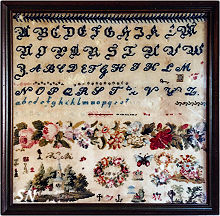 Band of Roses 1845 from Cross Stitch Antiques - click to see more