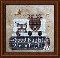 Good Night, Sleep Tight from Fairy Wool in the Wood - click to see more