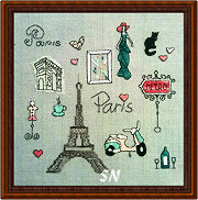 Spots of Paris from Fireside Originals - click to see more
