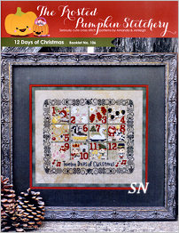 12 Days of Christmas from Frosted Pumpkin Stitchery - click to see more