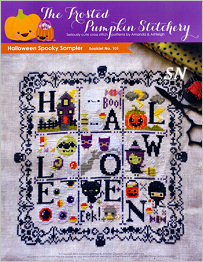 Halloween Spooky Sampler from Frosted Pumpkin Stitchery - click to see more