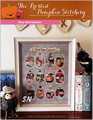 Story Time Sampler from Frosted Pumpkin Stitchery - click to see more