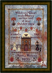 Spooky Hollow 1820 from Lindsay Lane Designs - click to see more
