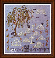 Quaker Gone Spooky from ByGone Stitches - click for more