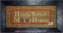 Home Sweet Motor Home from Needlework Press - click to see more