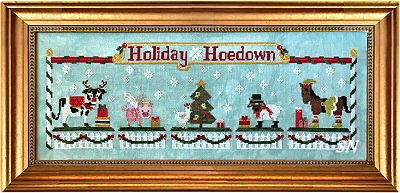 The Holiday Hoedown from Petal Pusher - click to see more