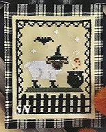 Ewe Witch Chart from Petal Pusher - click to see more