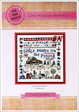 Little House on the Prairie from The Pink Needle - click for more