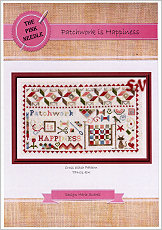 Patchwork Is Happiness from The Pink Needle - click for more