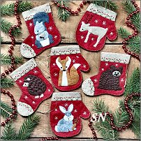 Christmas Critters from Rachels of Greenfield - click to see more