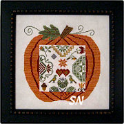 Great Pumpkin QUAKER from Samplers Revisited - click to see more