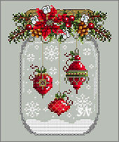 Ornament Snow Globe from Shannon Christine Designs - click to see more