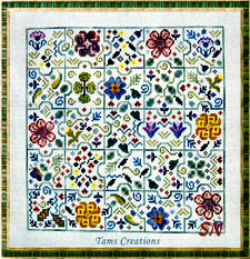 Floral Jigsaw from Tams Creations - click for more