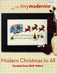 Modern Christmas to All from Tiny Modernist - click to see more