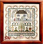 Keep Me Sampler by Moira Blackburn -- click to see more designs