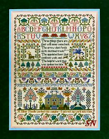 Three Things Sampler by Moira Blackburn - click to see more