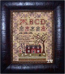 Kesiah Campbell 1796 Sampler from Needlemade Designs - click to see more
