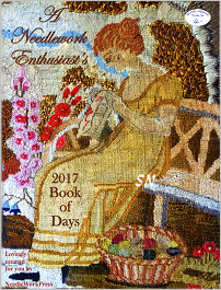 Needlework Enthusiast's 2017 Book of Days from Needlework Press - click for more