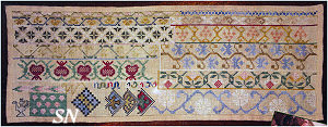 A Mexican Band Sampler from Needlework Press - click to see more
