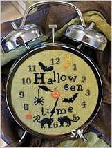 Halloween Time from Needlework Press - click for more