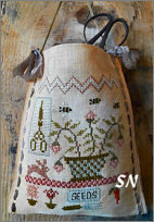 Garden Thyme Sewing Bag from Nikyscreations - click for more