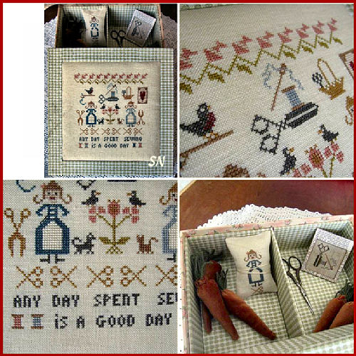 Stitching Sampler from Nikyscreations
