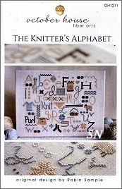 The Knitters Alphabet from October House - click for more