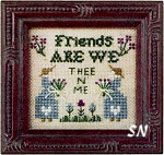 Friends Are We Mini Sampler Kit from Olde Colonial -- click to see more