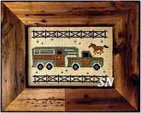Happy Horse Hauler from Open Road Abode Needleworks - click to see more