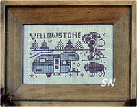 Campers from Open Road Abode Needleworks - click to see more