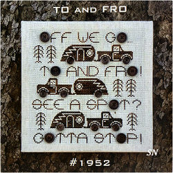 To and Fro from Open Road Abode Needleworks - click to see more