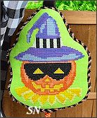HWL01 Masked Jack-O-Lantern from Pepperberry Designs - click to see more