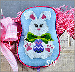EA08-XS Bow Tie Bunny from Pepperberry Designs - click to see more