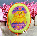 EA09-XS Hatching Chick from Pepperberry Designs - click to see more
