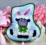 EA11-XS Bunny Lamb from Pepperberry Designs - click to see more