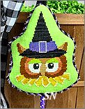 HWL04 Owl Witch from Pepperberry Designs - click to see more