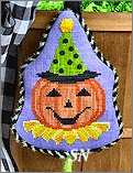 HWL10 Party Jack-O-Lantern from Pepperberry Designs - click to see more