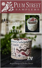 Mariner's Drum from Plum Street Samplers