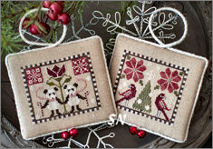 Plum Street Samplers Noah's Christmas Ark IV Pandas and Parrots - click for more