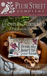 Sewn In Friendship from Plum Street Samplers