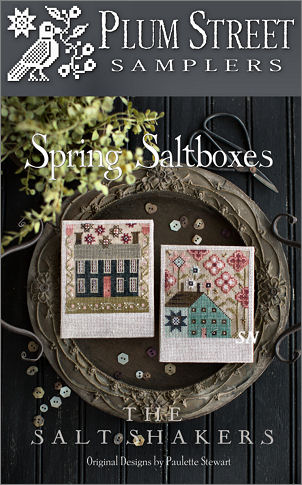 Spring Saltboxes from Plum Street Samplers