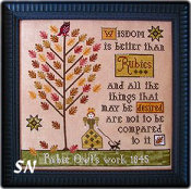Rubie Owl's Sampler from Plum Street Samplers - click for more