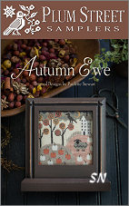 Autumn Ewe from Plum Street Samplers