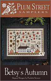Betsy's Autumn from Plum Street Samplers