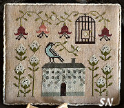 Cotton Bird from Plum Street Samplers
