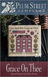Grace on Thee from Plum Street Samplers