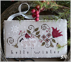 Hello Winter from Plum Street Samplers - click for more