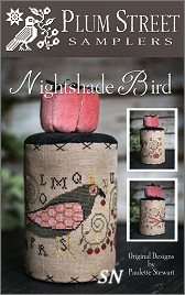 Nightshade Bird from Plum Street Samplers